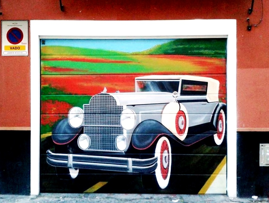 Graffiti & Murals on Garage doors