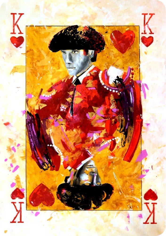 Sebastian Castella - Naipe de la colección Duality. Duality Art Show