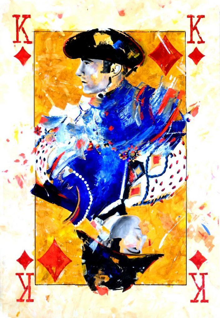 El Fandi - Naipe de la colección Duality. Duality Art Show