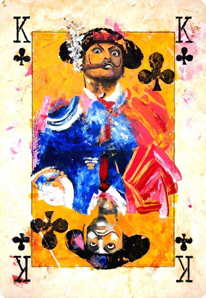 Morante de la Puebla - Naipe de la colección Duality. Duality Art Show
