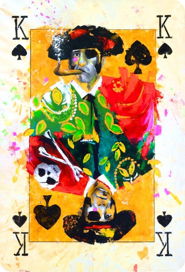 Juan José Padilla - Naipe de la colección Duality. Duality Art Show