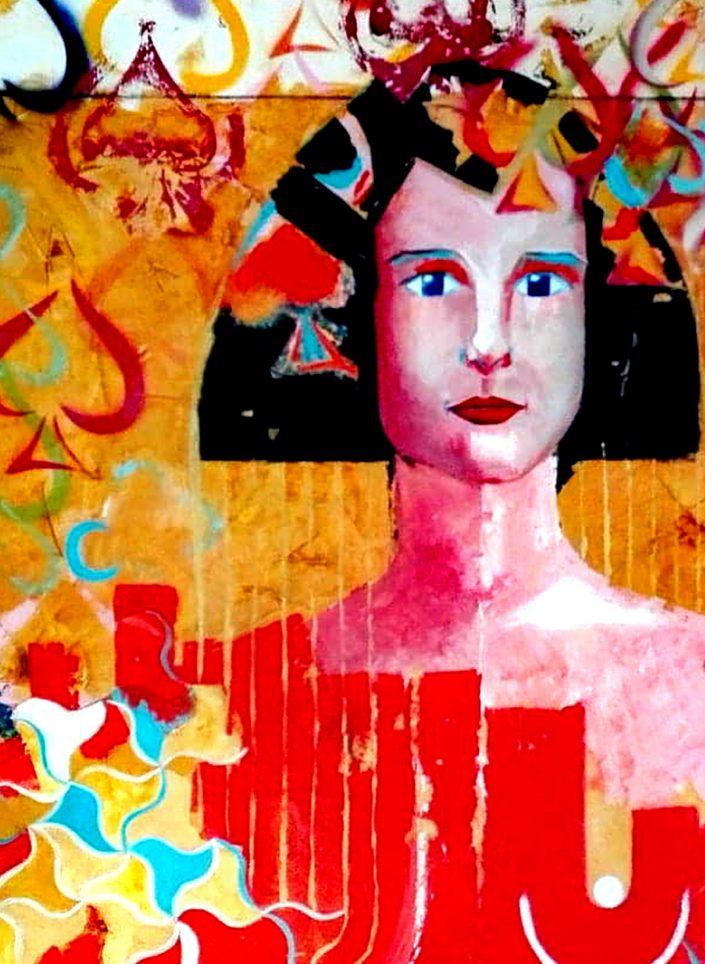 exposición arte contemporaneo: las damas