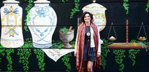 Alexandra Del Bene pintora, artista, grafiti