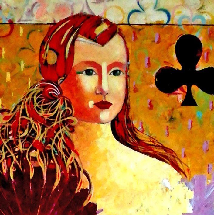 exposición arte contemporaneo: las reinas