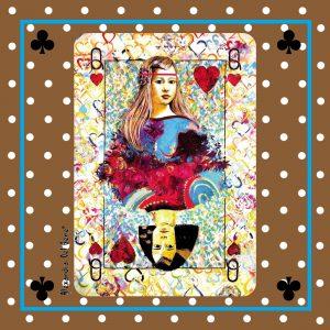 pañuelos de arte firmado Alexandra Del Bene