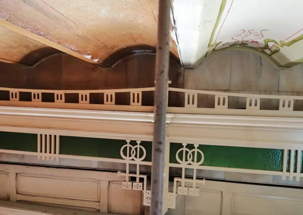 Restauro del techo de la Antigua Taberna y Restaurante El Rinconcillo de Sevilla.